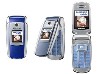 ��������� ������� Samsung SGH-M300 Purple Blue