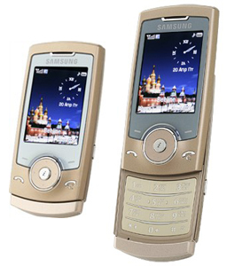 ��������� ������� Samsung SGH-U600 Copper Gold