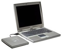 Ноутбук Dell Latitude D400 P-M 1600/256/40/DVD-CDRW/WiFi/BT/W'XP (33433)
