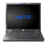 Ноутбук HP Compaq nx6110 P-M730 1600/256/40/DVD-CD/RW/WiFi/FreeDOS (PG841ES)