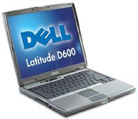 Ноутбук Dell Latitude D600 P-M 1600/256/40/DVD-CDRW/WiFi/BT/W'XP (34615)