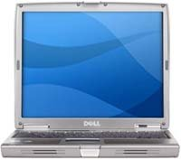 Ноутбук Dell Latitude D610 P-M 1860/512/60/DVD-RW/WiFi/BT/IR/W'XPP (35262)