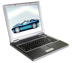 Ноутбук RoverBook Explorer E575 P-4 2800/256/30/DVD-CDRW/DOS