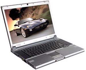 Ноутбук RoverBook Voyager H590L P-M 1500A/256/40(5400)/DVD-CDRW/DOS