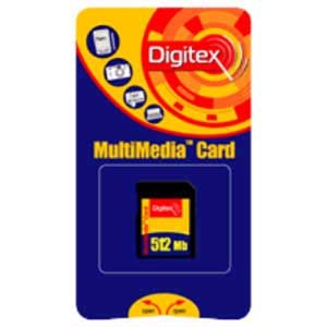 Карта памяти Digitex Compact Flash 512 Mb FMCF-0512