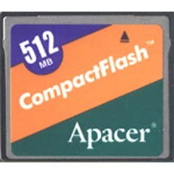 Карта памяти Apacer Compact Flash 512Mb 96.25123.100