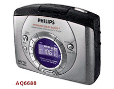Плеер Philips AQ 6688